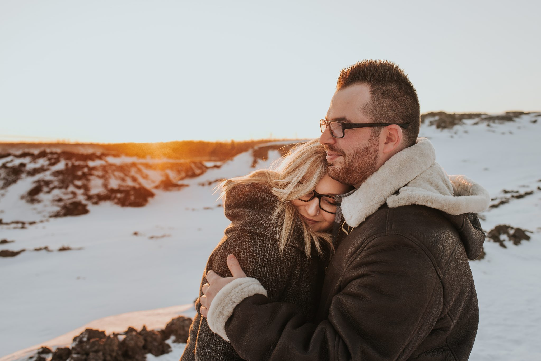 Mike + Josie {Surprise Engagement}- Fort McMurray, AB