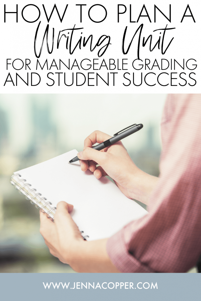 This article explains strategies for planning a successful writing unit that minimizes teachers' time grading and maximizes high school students' skills. You'll find strategies for conferencing, providing feedback, and creating organizational workbooks.