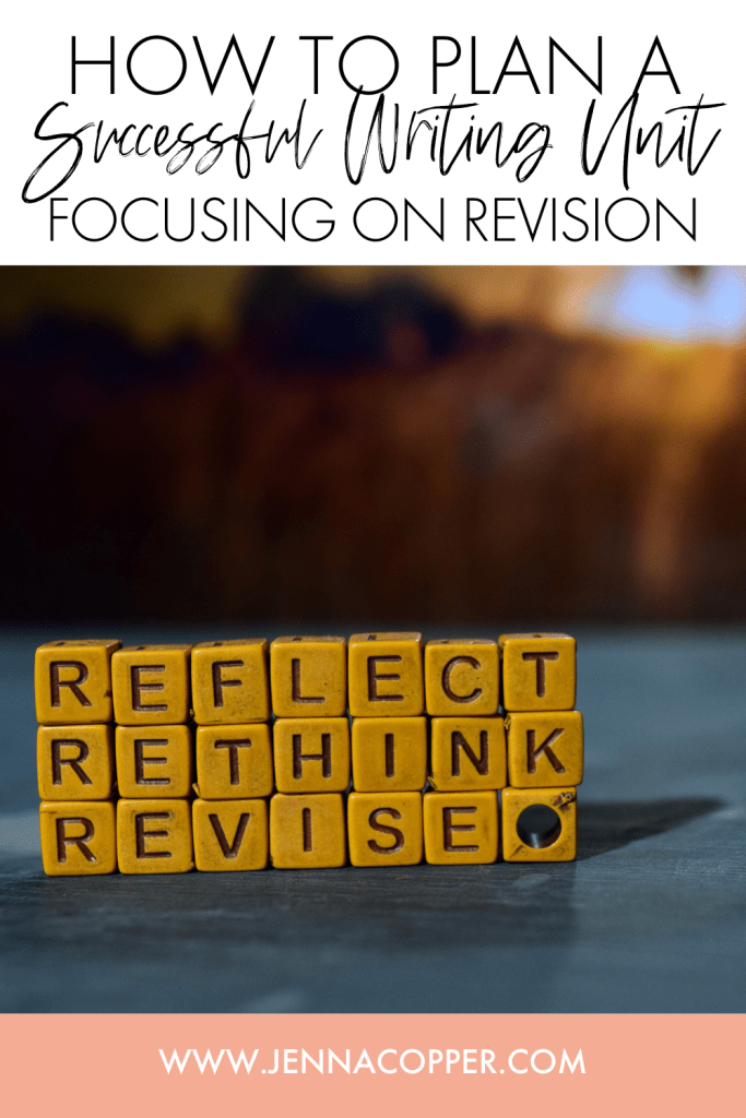 Using revision to teach the writing process is an excellent strategy! However, in order to make the grading manageable, teachers needs a plan for giving feedback, facilitating peer review, and creating activities that engage students in the writing process. This post will give you ideas, activities, and more!