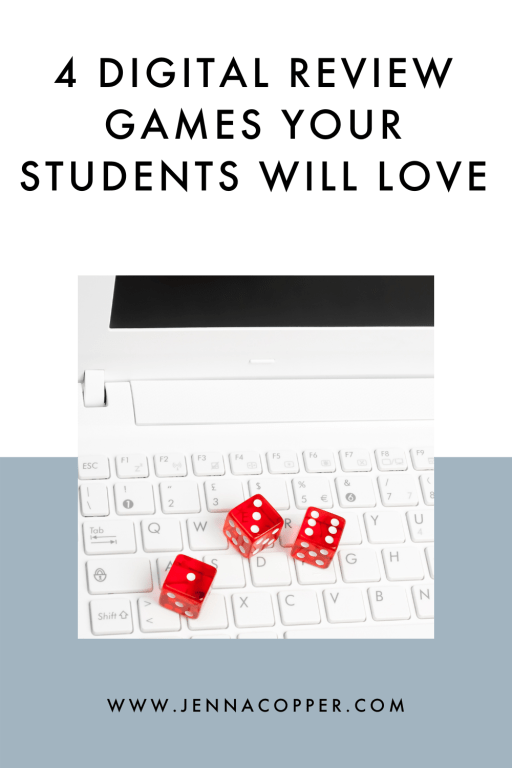Looking to add more fun and games to your English classroom? This blog post includes four easy ideas to add fun and games to your ELA classroom. Your middle and high school students will love these high-engagement activities, strategies, and ideas for review games and test prep!