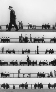 Sheet Music Montage, Coney Island 1950 - Harold Feinstein