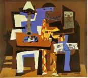 Three Musicians. pablo picasso