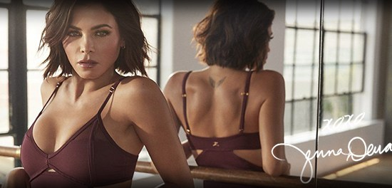 Jenna Dewan x Danskin Collection Photoshoot