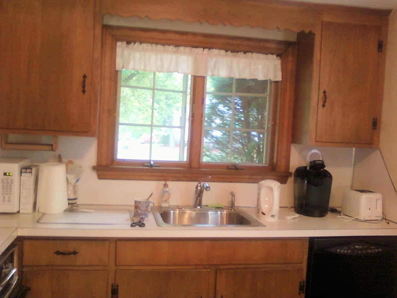 Dark and Cramped Kitchen