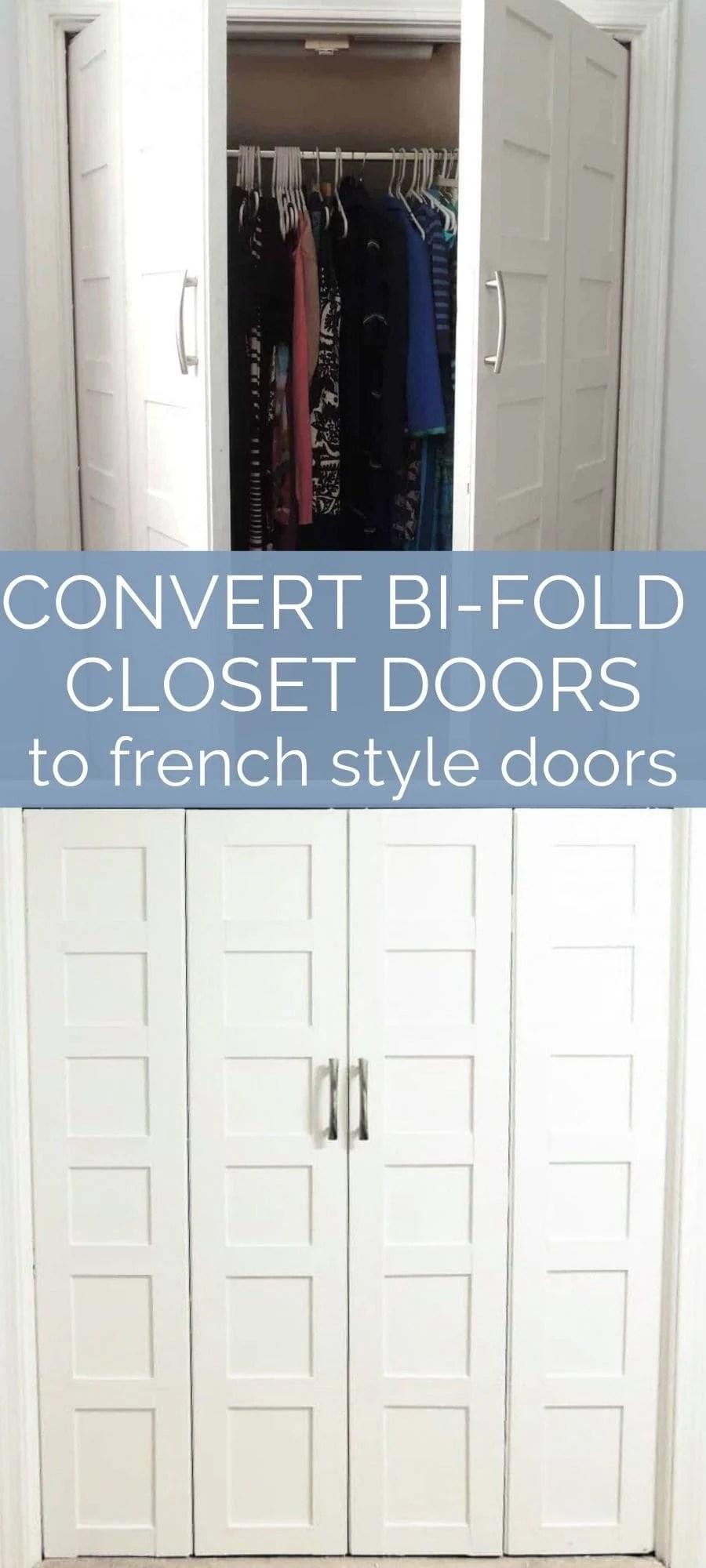 convert bifold doors to pivot french style doors
