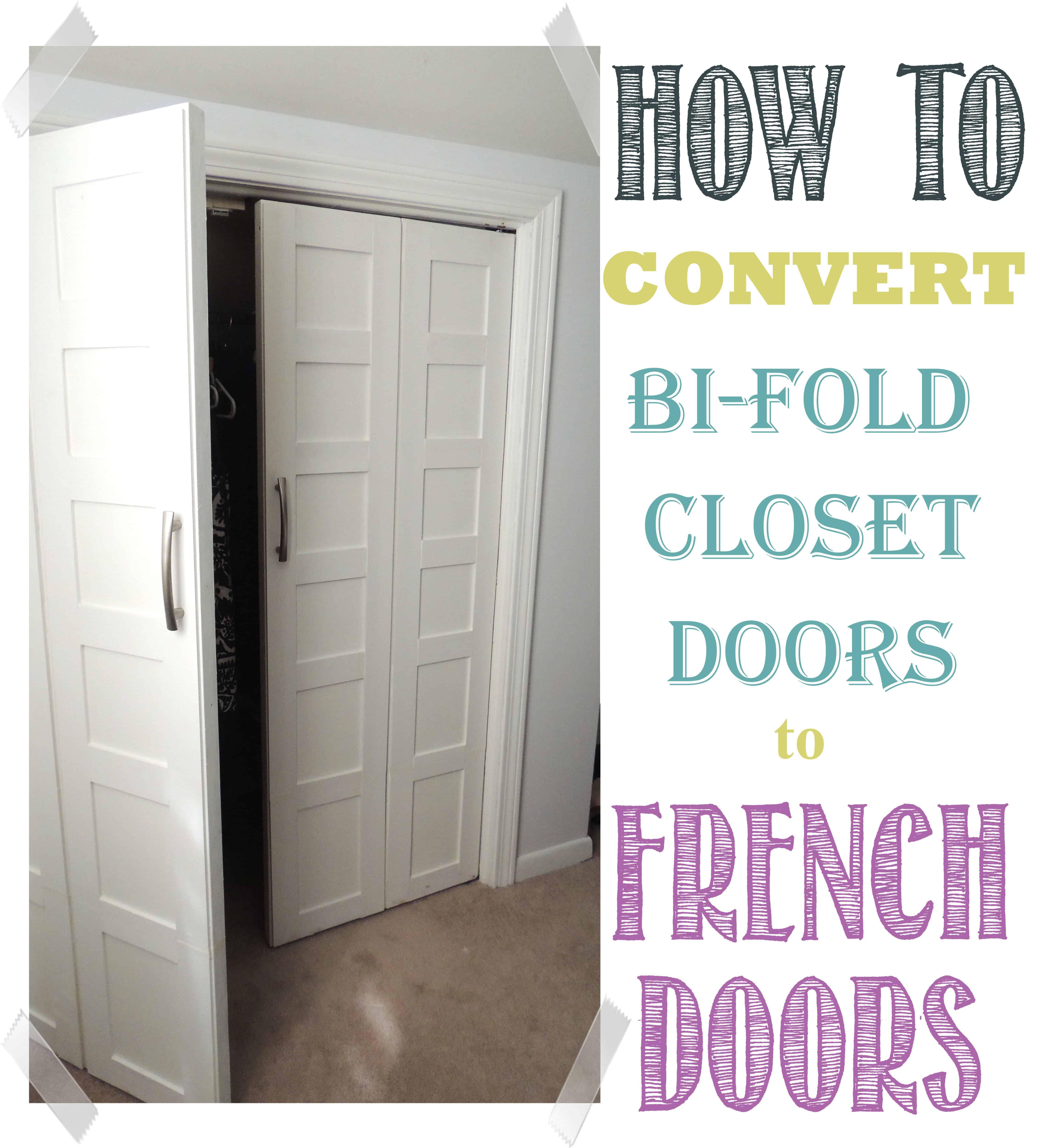 How to Convert Bifold Doors to French Doors