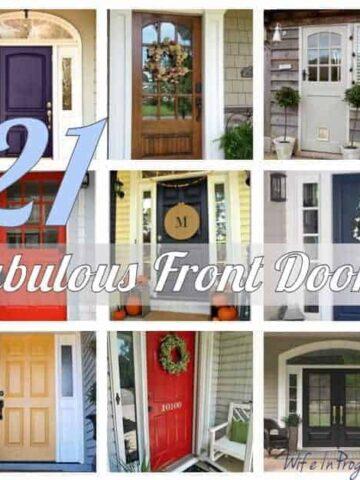 21 Fabulous Front Doors