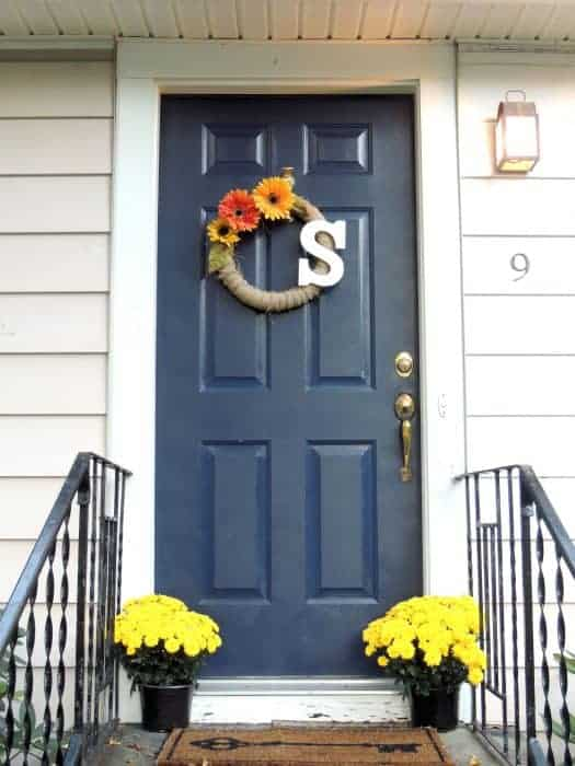 Naval by Sherwin Williams - Painted Door