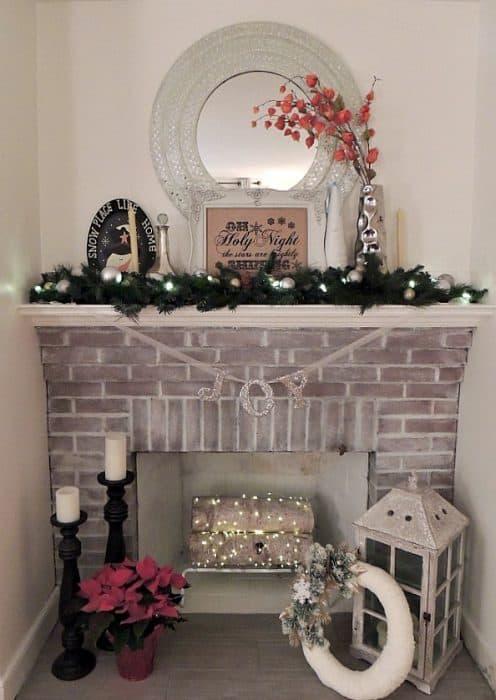 fireplace lit 2014