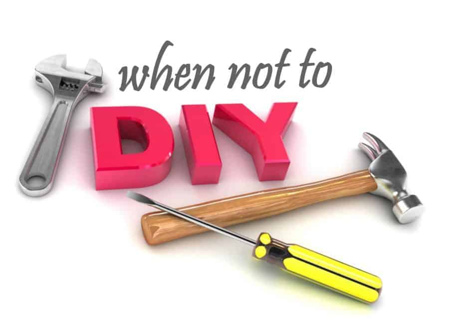 when not to DIY | Wife in Progress