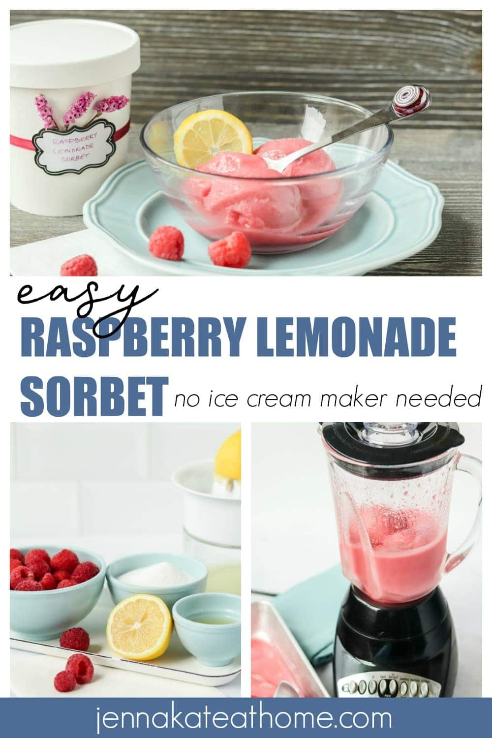 raspberry lemon sorbet