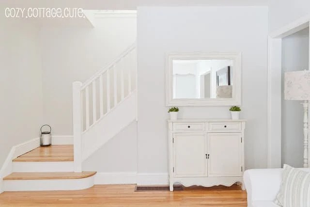 Benjamin Moore Gray Owl living room