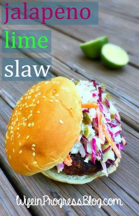 Jalapeno Lime Slaw