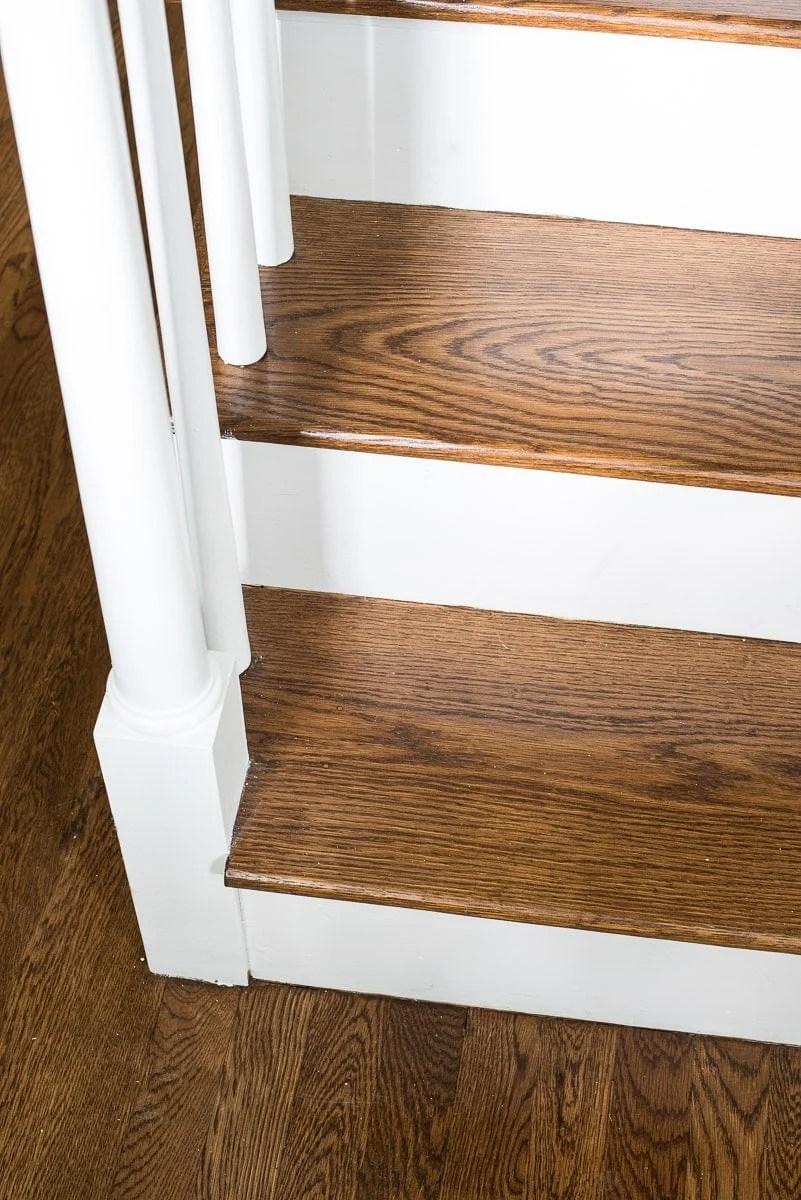 Bona provincial stain on white oak flooring