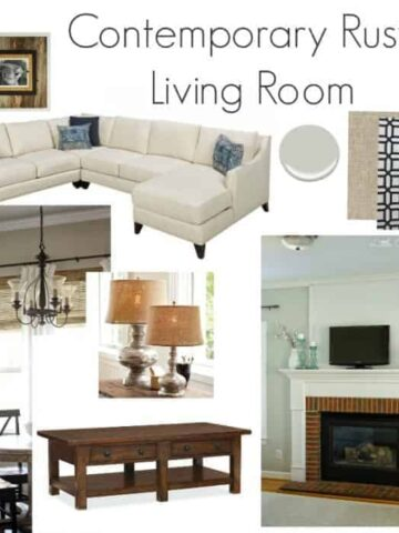 living room inspiration mood board