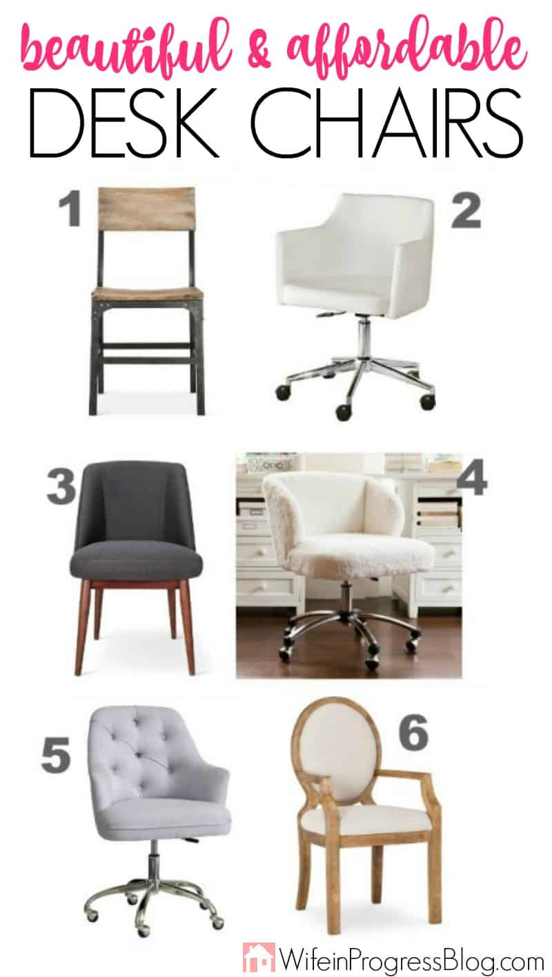 These beautiful desk chairs are also a great affordable option for your workspace. Check them out now before they're sold out!