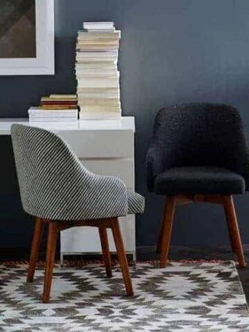 West Elm Saddle Desk Chair