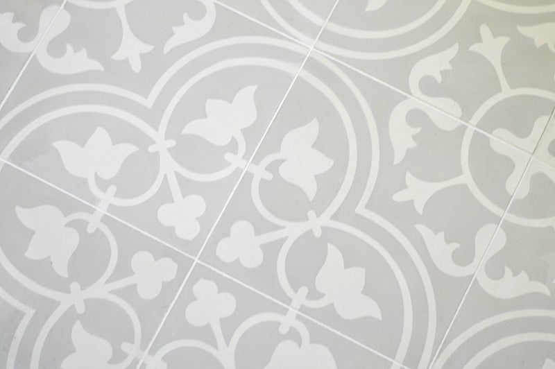 How to seal and grout cement tile