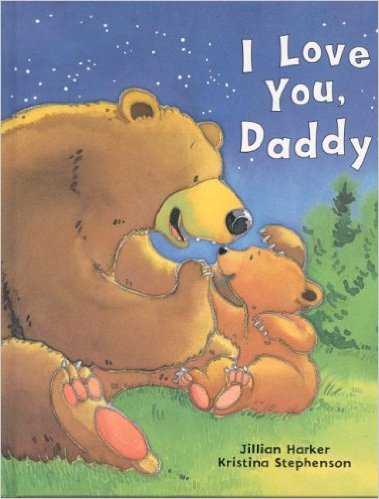 I Love you Daddy, Book for Father's Day