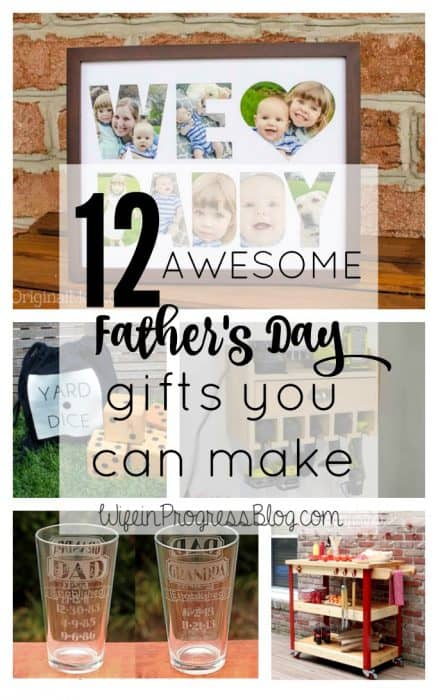 These thoughtful DIY Father's Day gifts are sure to be treasured by any father