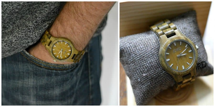 JORD Wood Watch - Fieldcrest series in Green Sandalwood - Father's Day Gifts
