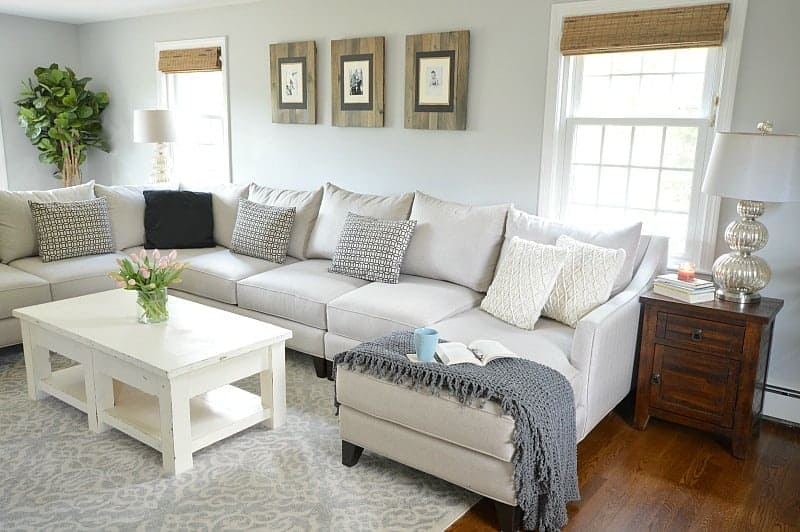 new furniture and decor adds instant character