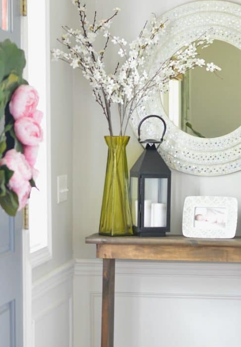 Build your own DIY hallway console table!