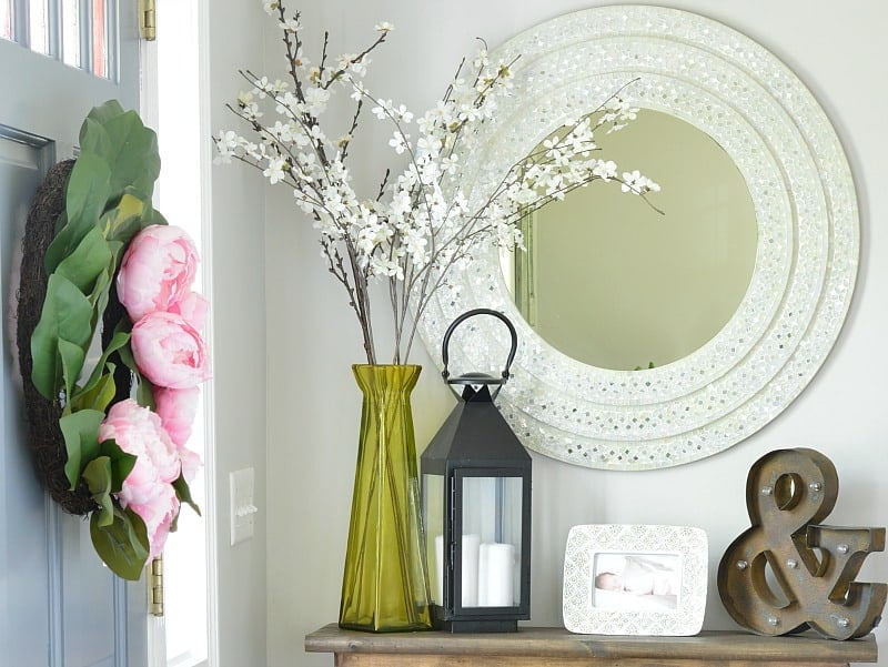 A DIY Hall Console Table is an easy first furniture build