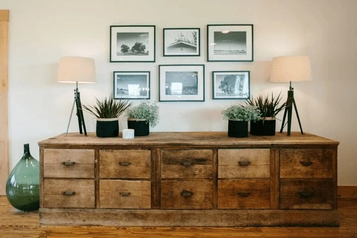 Fixer Upper style chest for living room