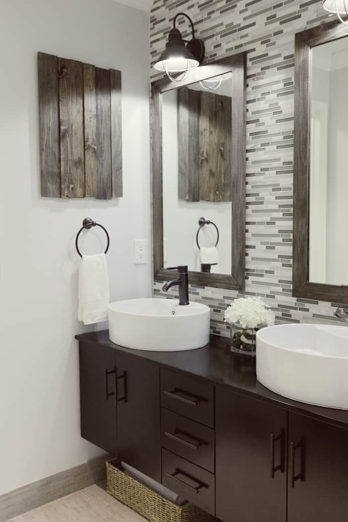 Behr Reflecting Pool in a bathroom is a great color for resale in 2020