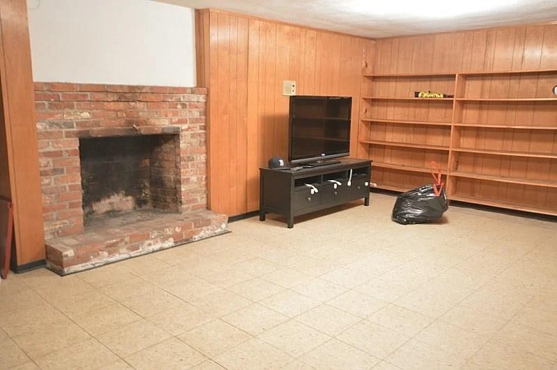 basement remodel ideas & design - week 1