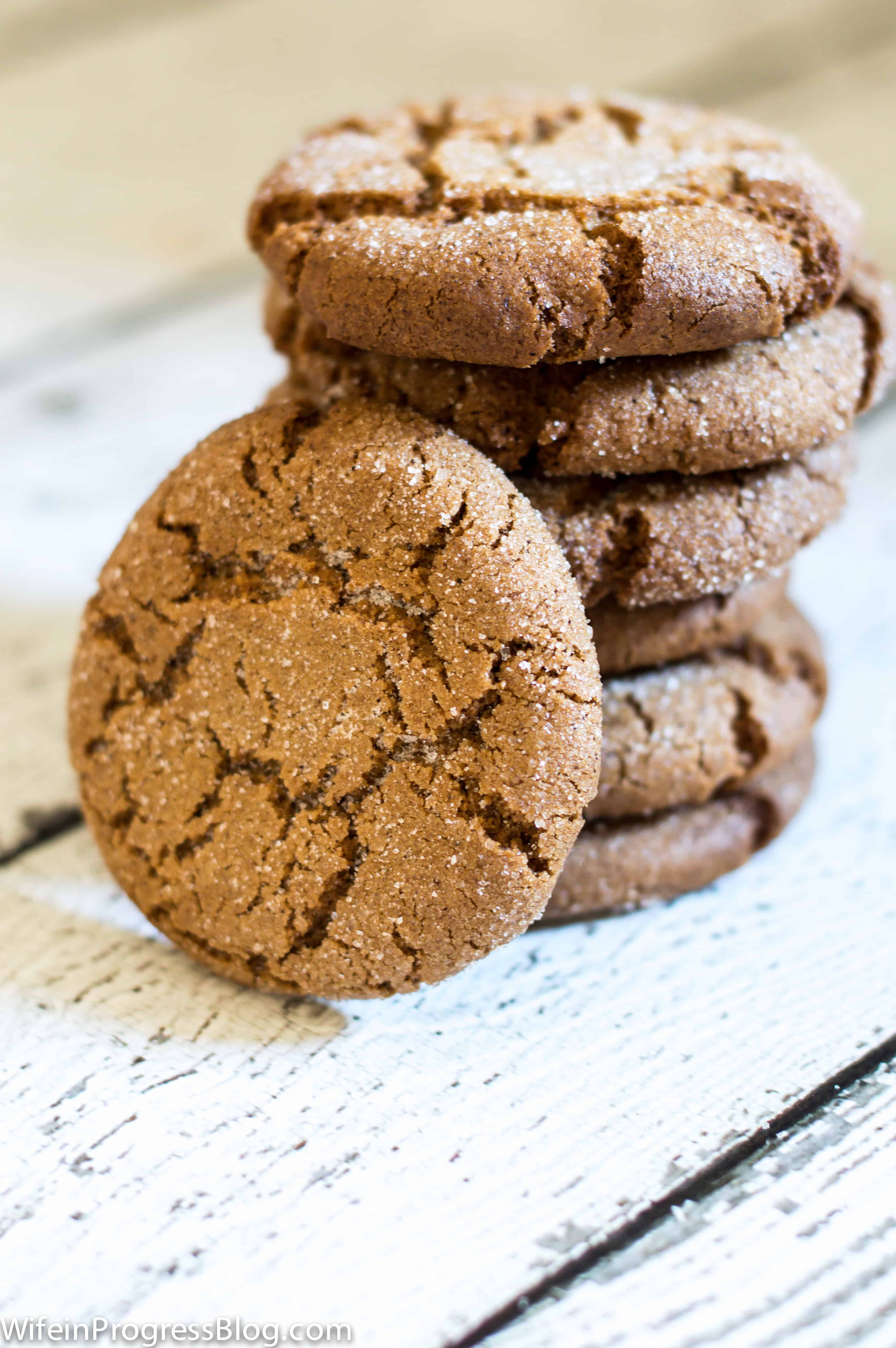The best gingersnap cookies you'll ever bake
