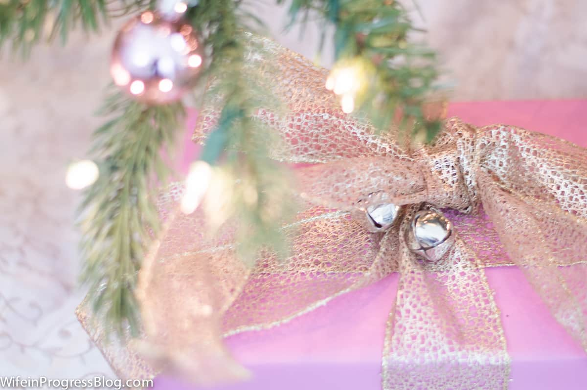 Pastel decor for Christmas