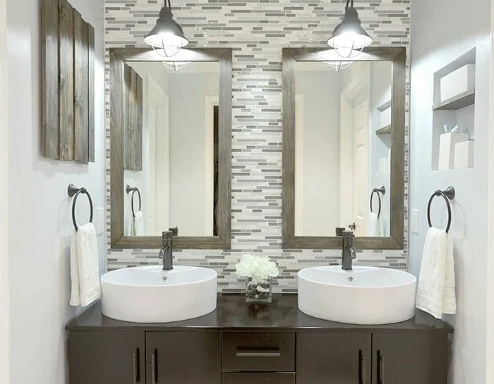 The best bathroom paint colors - Reflecting Pool