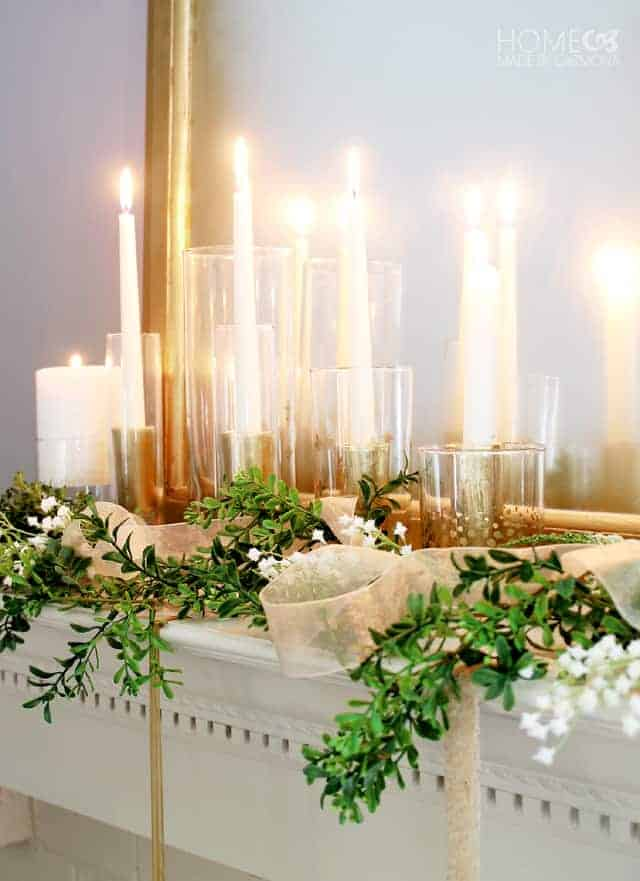 Make these high-end decorative candle holders with this budget-friendly tutorial