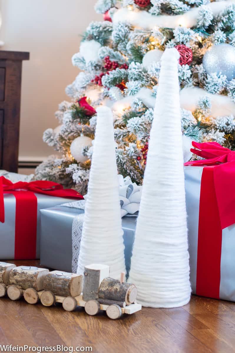 diy-snowy-christmas-tree-1