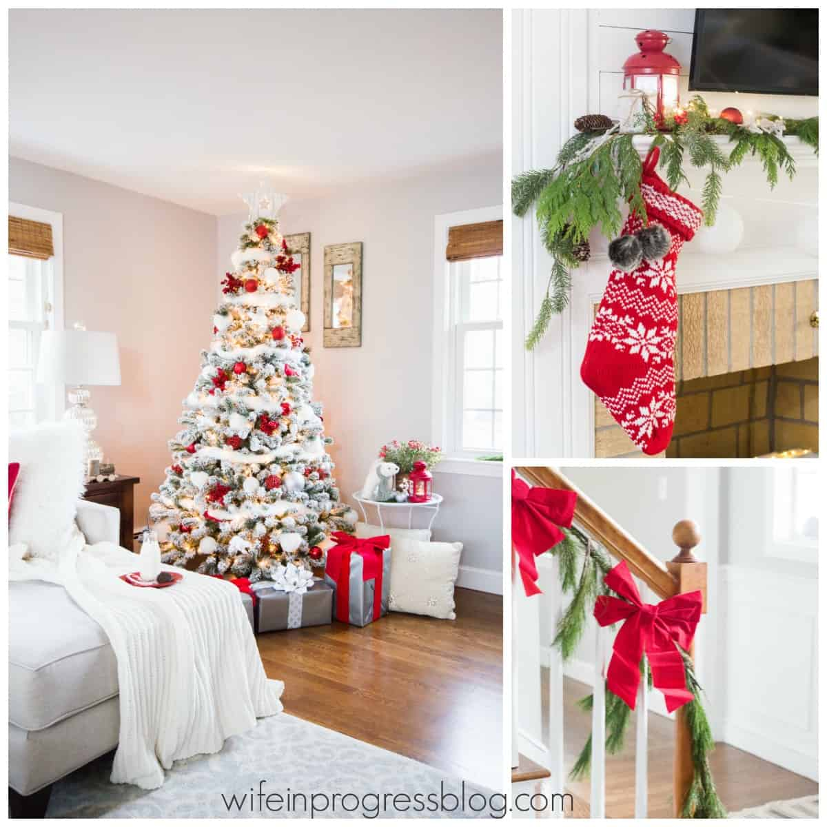 Merry & Bright Holiday Home Tour 2016