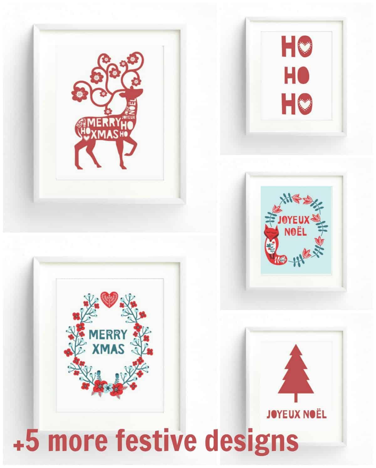 10 Free Christmas printables for you!