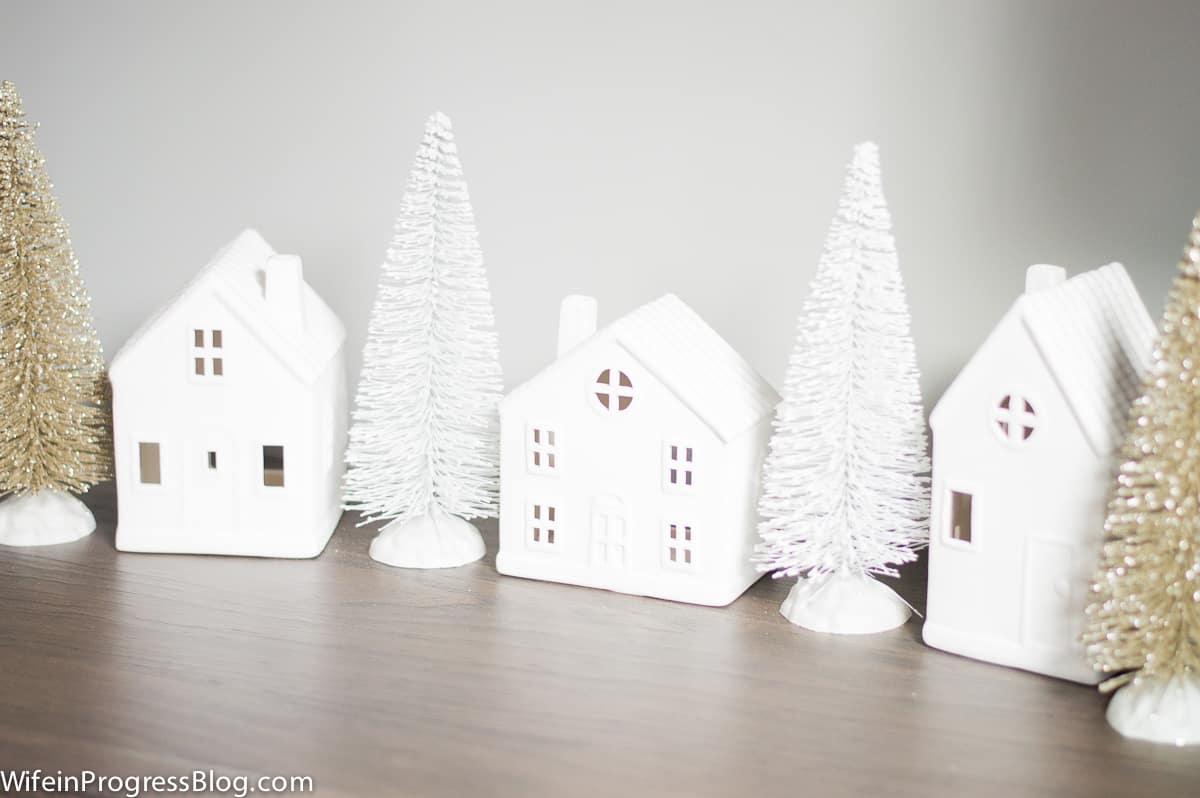 Christmas table decorations don't have to break the budget - these are all from the Target dollar spot