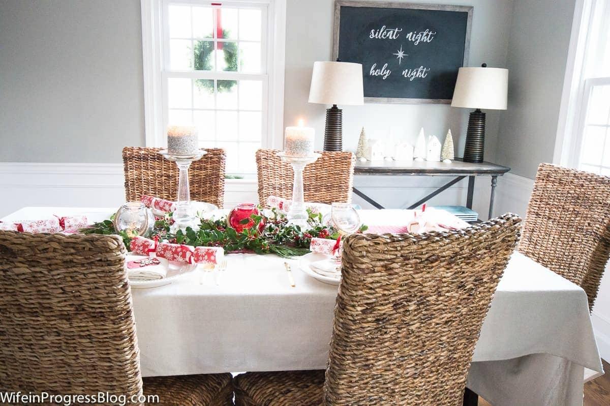 Christmas home tour from WifeinProgressBlog.com