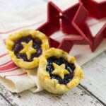 Jam Tarts made with a 5 minute pie crust