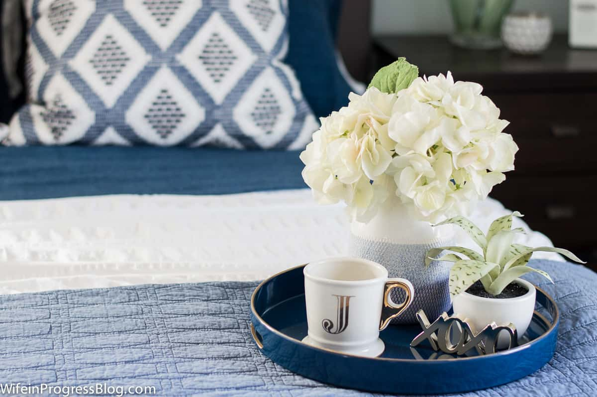 Coffee table styling doesn't have to be difficult.