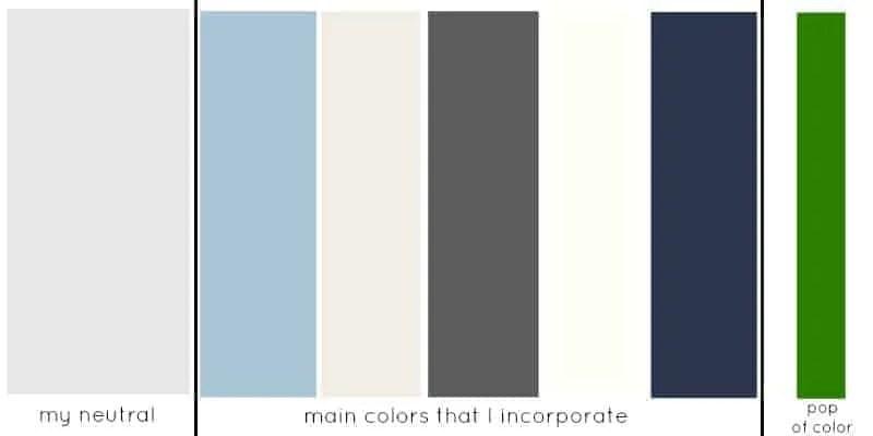 whole house color palette | whole house color scheme
