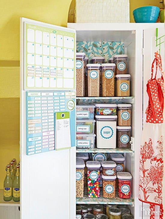 The Best Kitchen Organization Ideas - use an armoire