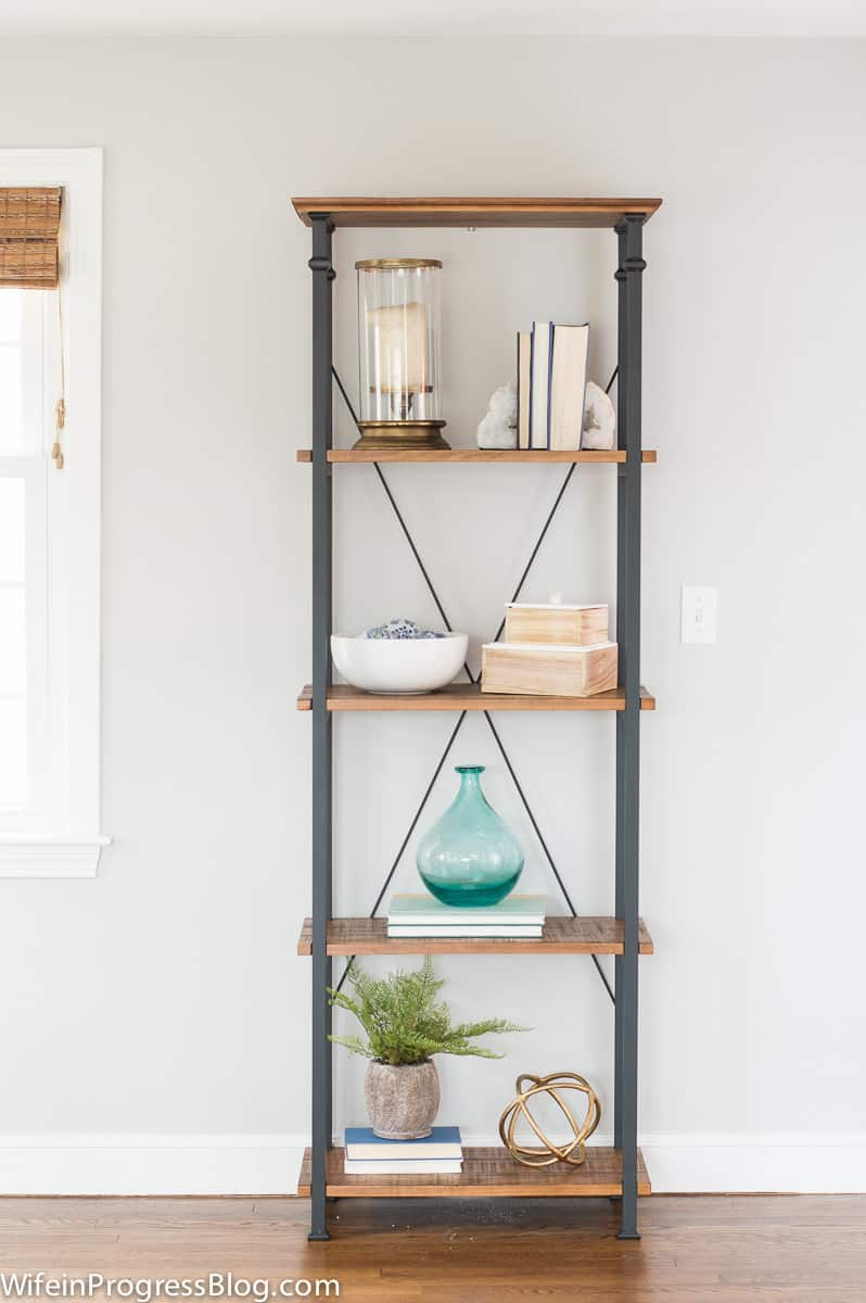 How to style a bookcase - tips and tricks