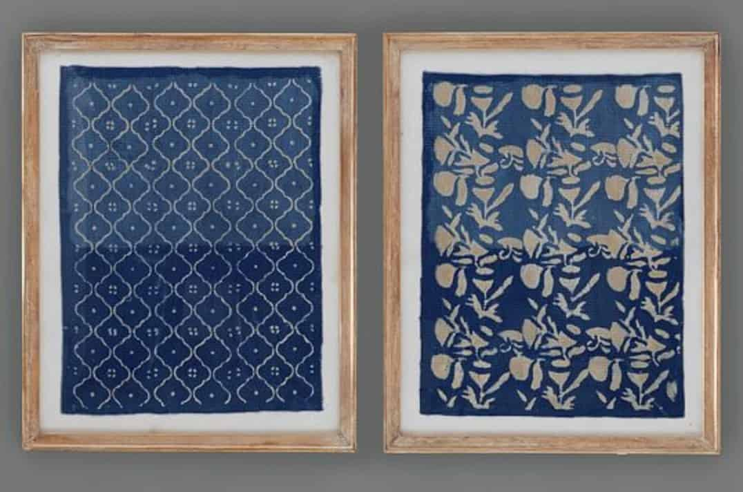 Learn how simple it is to make beautiful textile art for your home with this easy to follow tutorial that only requires some fabric and a picture frame.