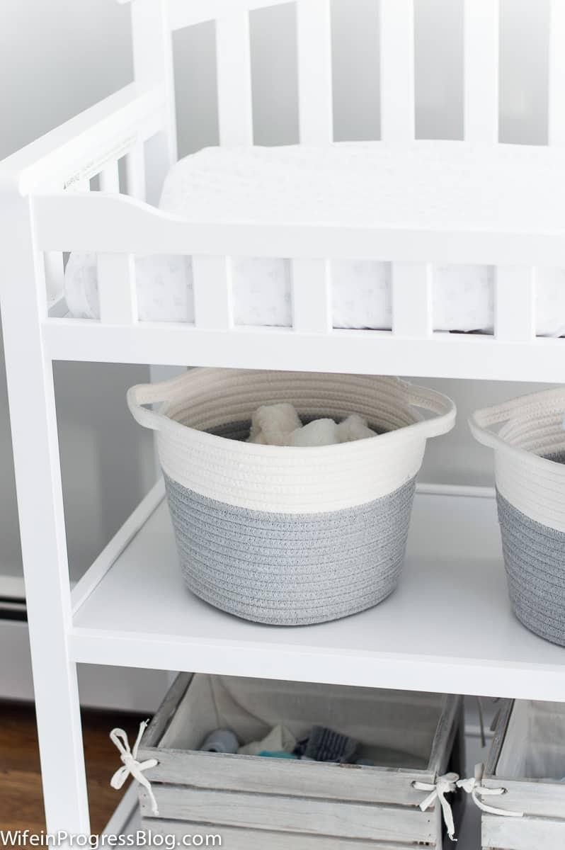 Bright and Neutral Baby Boy Nursery
