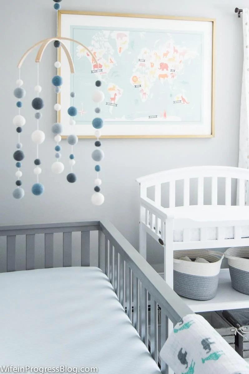rustic Baby boy nursery decorating ideas