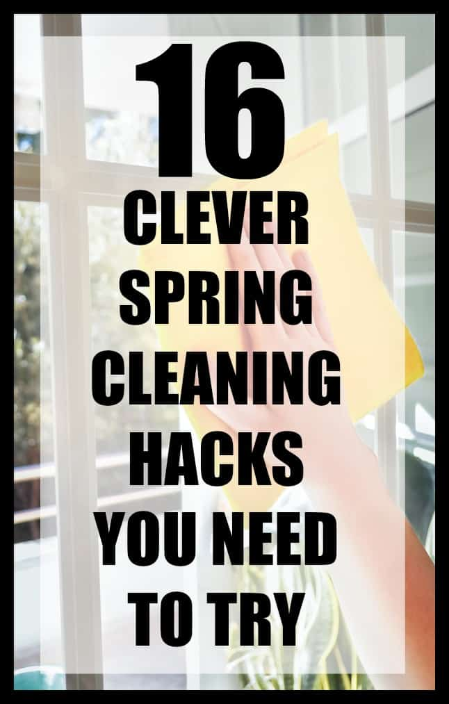 16 clever spring cleaning hacks and tips that you need to try