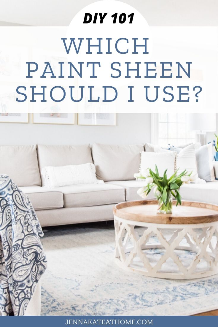 Simple tips for picking the right paint sheen for your home project